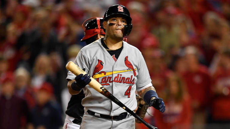 Yadier Molina Among Six Cardinals Players Who Tested Positive for COVID-19