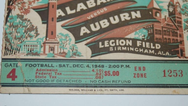 Daily Dose of Crimson Tide: The Iron Feud Between Alabama and Auburn