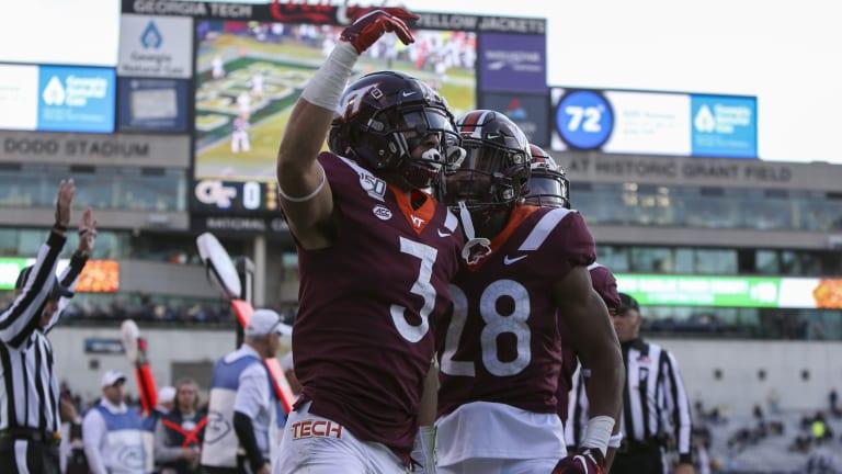 Pro Football Focus Loves Virginia Tech Cornerbacks Caleb Farley and Jermaine Waller