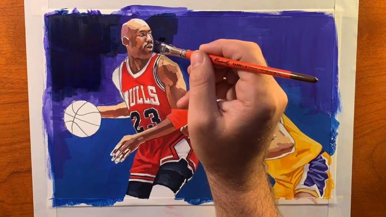 Michael Jordan: an artist's statement