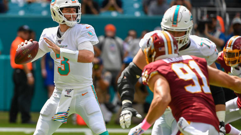Josh Rosen and a Dolphins History Lesson
