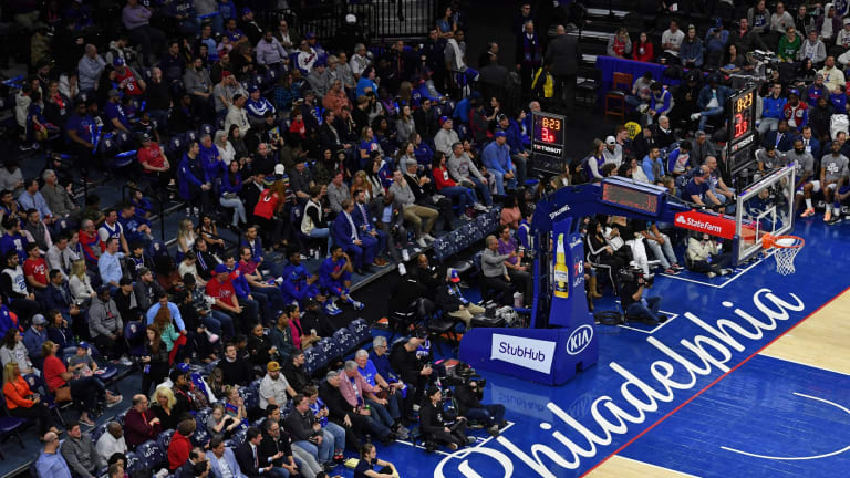Sixers Look Forward to Welcoming Fans Back Soon