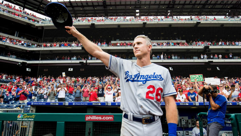 Dodgers History: Wild Thing Pinpoints Chase Utley's Throwing Troubles