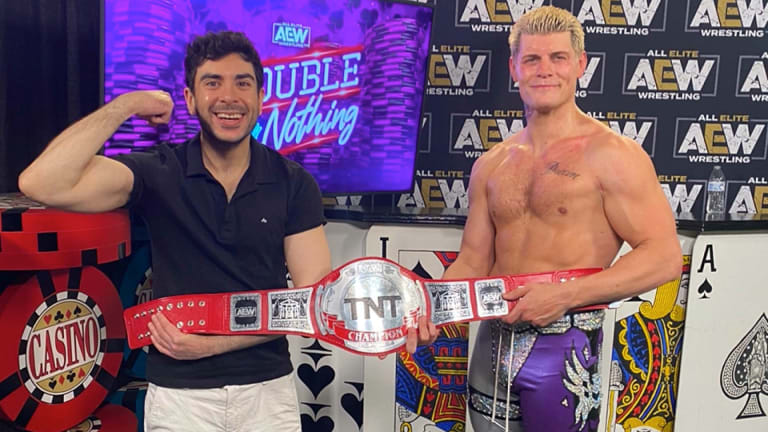 AEW Double or Nothing results: Cody Rhodes crowned TNT Champion ...