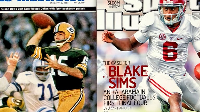 Alabama SI Cover Tournament: The Champs (Bart Starr) vs. The Case For Blake Sims