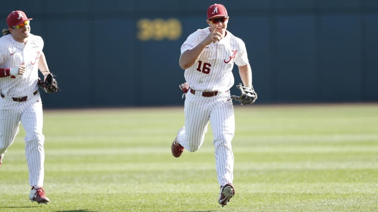 Owen Diodati's First Season With Alabama Baseball Was Nothing Short of a 'Roller Coaster'