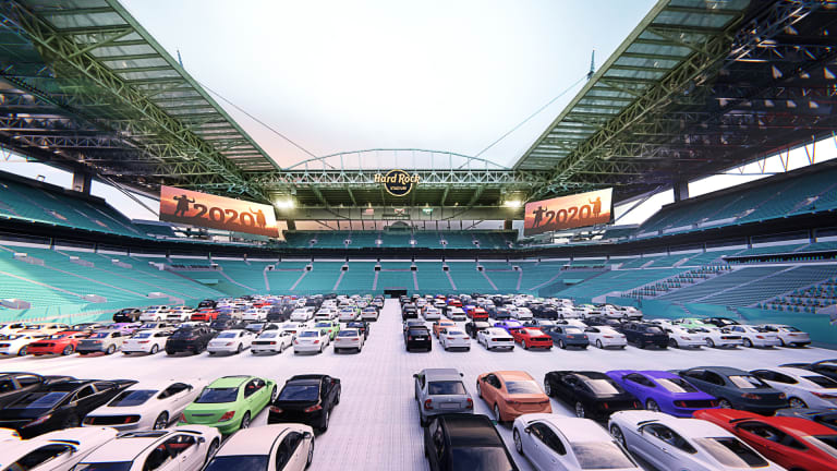 Dolphins Planning Outdoor Theaters at Hard Rock Stadium