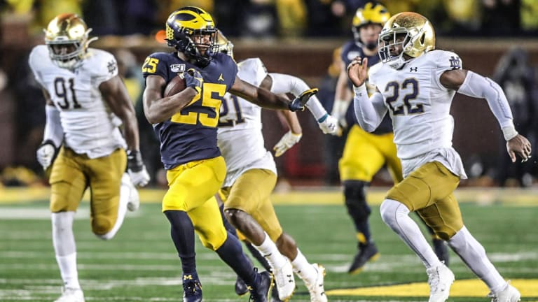 Interesting Fact About The Notre Dame/Michigan Rivalry