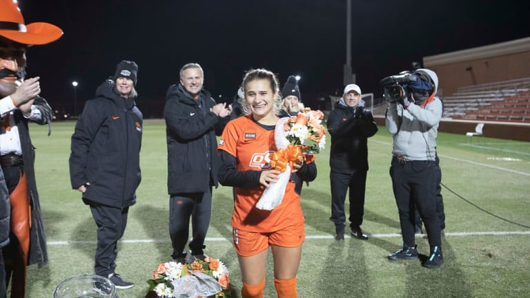 Cowgirl Soccer's Jones Named Big 12 Sportsperson Of Year