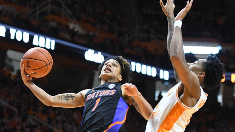 Report Says Florida Gators Guard Tre Mann to Withdraw from NBA Draft