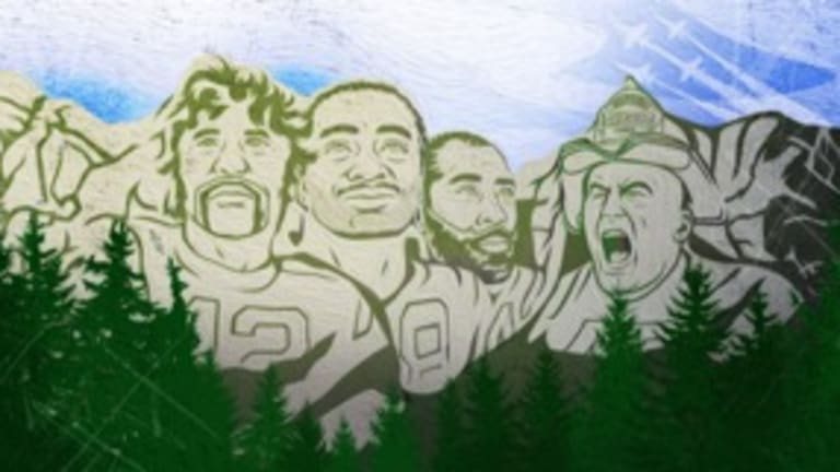 Three names on the New York Jets Mount Rushmore: Is Fireman Ed the fourth?