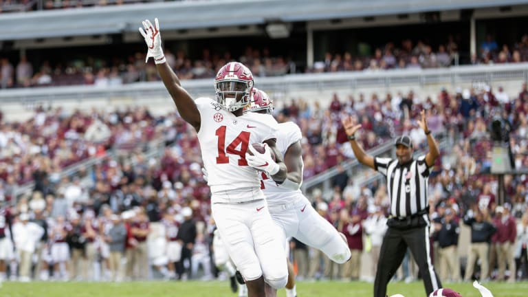Receiver Tyrell Shavers transfers from Alabama to Mississippi State