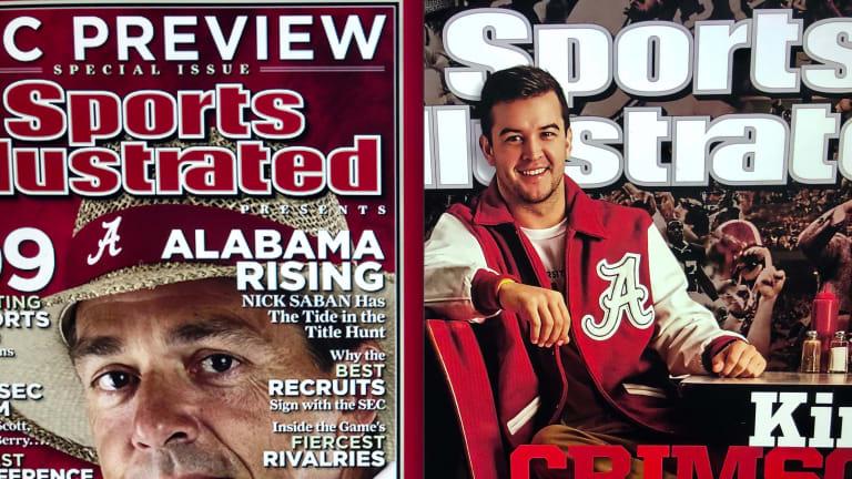 Alabama SI Cover Tournament: SEC 2009 preview (Nick Saban) vs. AJ McCarron