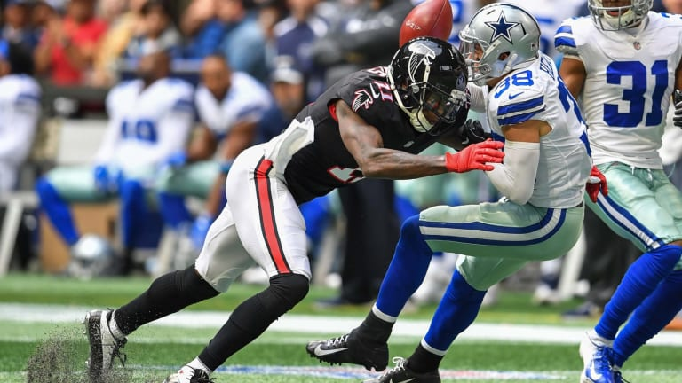11 Times Julio Jones Made My Day, No. 10: Julio Turns Into a Safety
