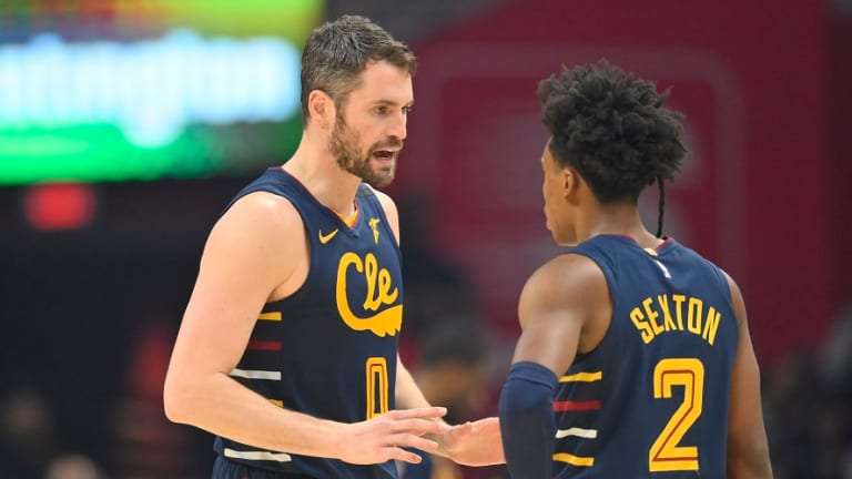 Cavaliers' Love, Sexton in favor of getting in some summer run