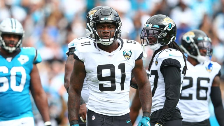 Countdown to Jaguars Football: No. 91 and Who Has Donned it Best