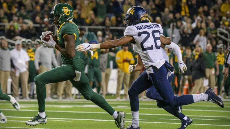 The New York Jets are getting a talented playmaker in Denzel Mims