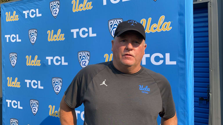 WATCH: Chip Kelly Breaks Down UCLA's Pass Defense, Road Ahead