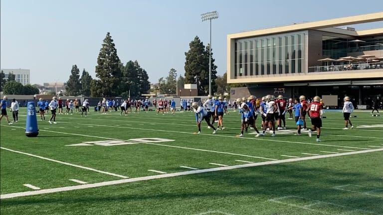 UCLA Football Practice Report: September 20