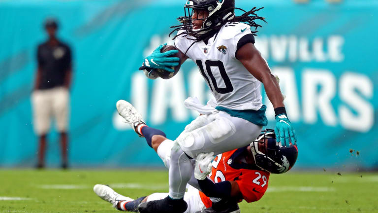 Jaguars Notebook: Shenault Expected to Play vs. Cardinals and More Injury Updates
