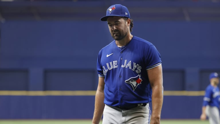 'They Made Me Work': Jays Fall Short In Rare Shaky Ray Start