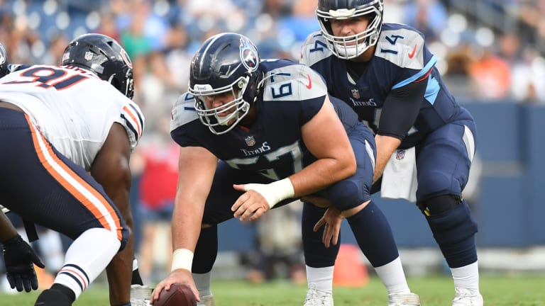 Giants Sign OL Cole Banwart to Practice Squad
