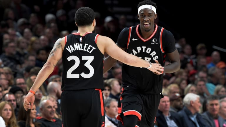 Pascal Siakam & Fred VanVleet Move in Opposite Directions in Top 100 Rankings