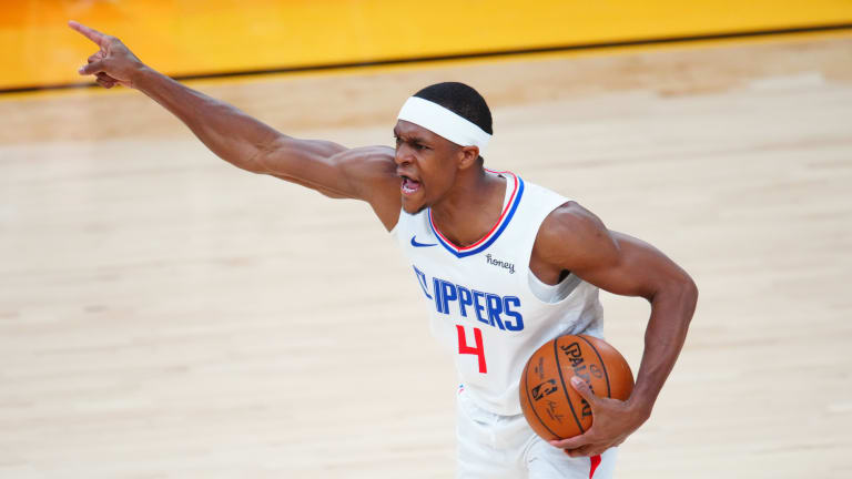 """Rajon Rondo """"Not Going to Play as Much"""" on Lakers"""