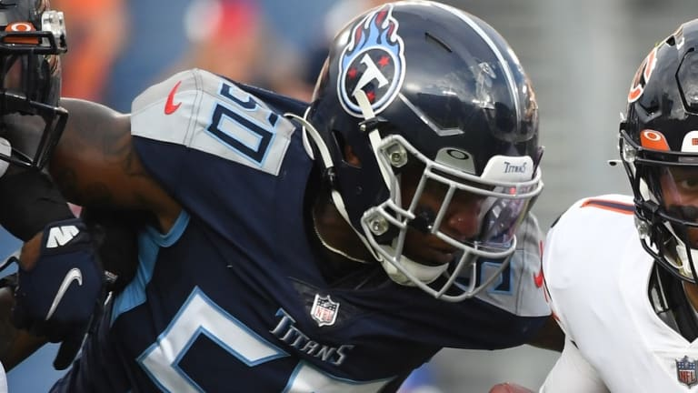 Friday Injury Report: Three Titans Ruled Out
