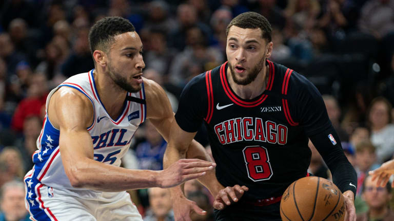 ESPN Suggests Ben Simmons, Zach LaVine Swap Could 'Do Wonders' for Sixers