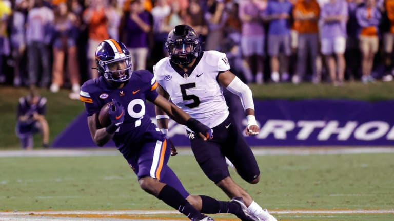 Cavaliers Struggle on Both Sides in 37-17 Loss to Wake Forest