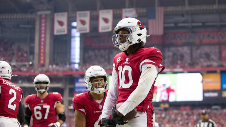 Jaguars vs. Cardinals: DeAndre Hopkins Questionable For Week 3 Bout