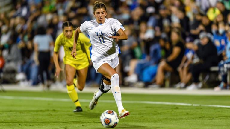 Winning Streak Ends, Shutout Streak Continues as UCLA Women's Soccer Ties Oregon