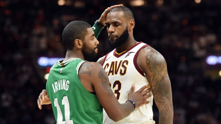 NBA Star Once Dunked On Kyrie Irving And LeBron James In The Same Game Between The MilwaukeeBucks And Cleveland Cavaliers