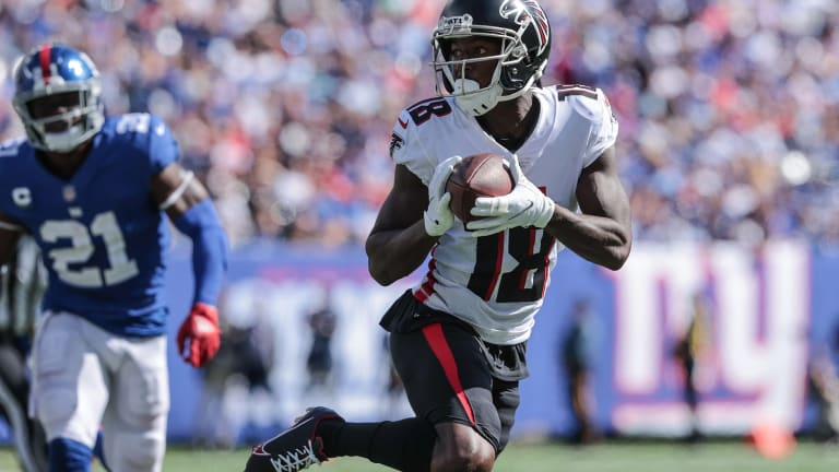 New York Giants Fall to Falcons 17-14 In Mistake-Filled, Ugly Game