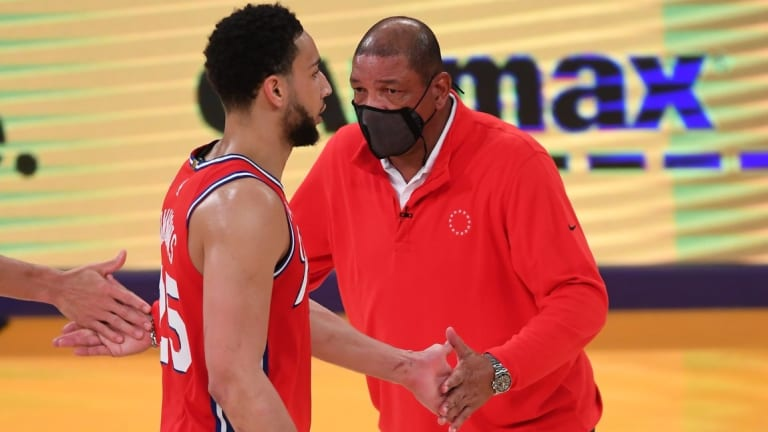 Doc Rivers Still 'Thinks the World' of Disgruntled Star Ben Simmons