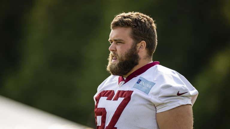 New York Giants Add Offensive Lineman Wes Martin to 53-man Roster