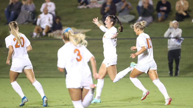 UVA Women's Soccer Ranked No. 2 in Latest Poll
