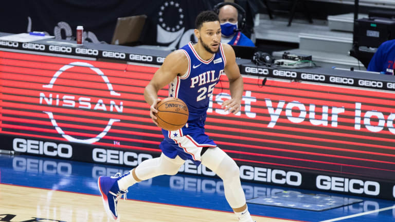 Sixers Rumors: Ben Simmons Arrived in Philly During Nets Matchup