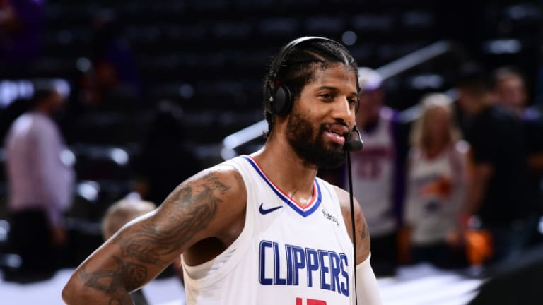 Paul George Gives Health Update