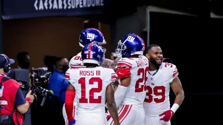 New York Giants Top Saints in Overtime, 27-21
