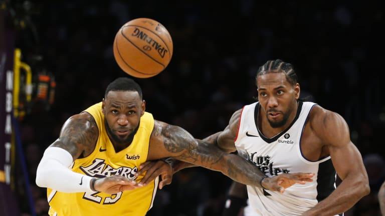Kevin Durant, LeBron James, and Kawhi Leonard Ranked Top-3 Small Forwards