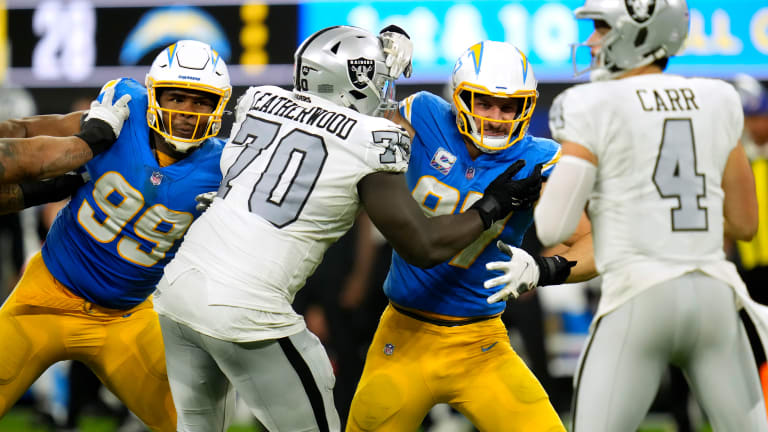 Raiders in Scramble Mode on Offensive Line