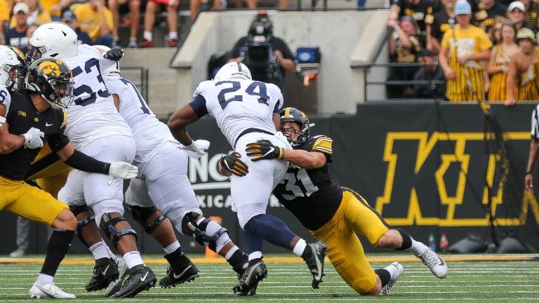 Photo Gallery: No. 3 Iowa Knocks Off Penn State