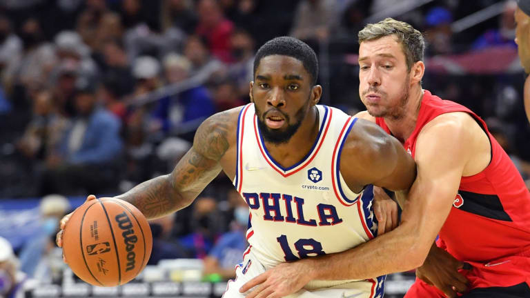 Doc Rivers Reveals Shake Milton Rolled His Ankle in Practice on Sunday