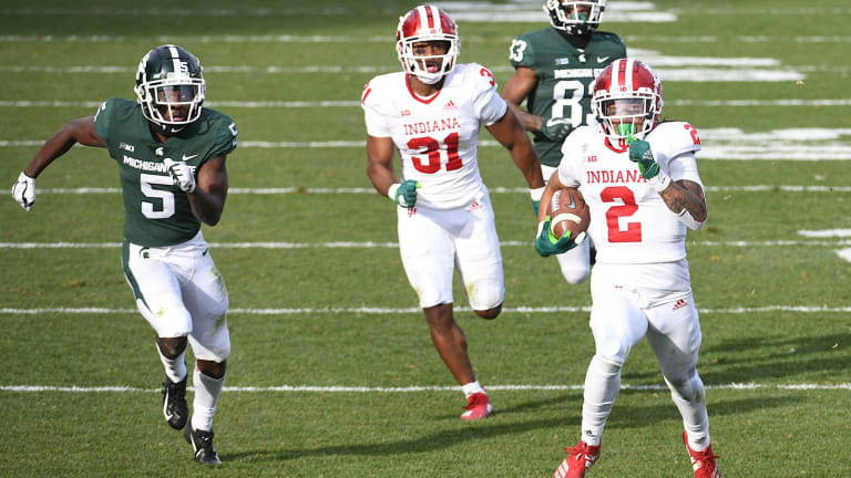 Indiana Opens As 3.5-Point Underdog To Michigan State