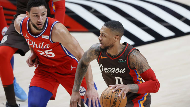 Sixers Hope for 'Dream Scenario' of Swapping Ben Simmons for Damian Lillard