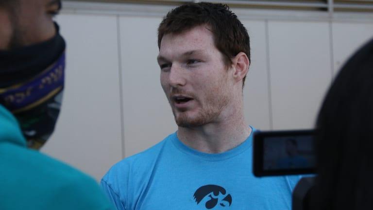 HN TV: Iowa Football Player Interviews Purdue Week