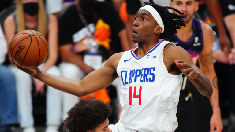 Terance Mann Reacts to Contract Extension With Clippers