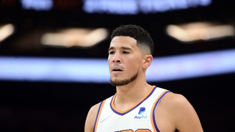 You Won't Believe The Stat Line Phoenix Suns' Devin Booker Had Against The Trail Blazers